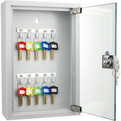 Barska 10-Position Glass Key Cabinet