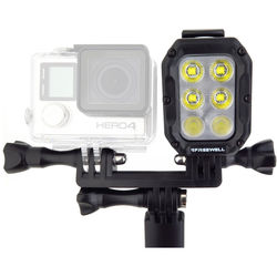 Freewell Underwater Light with Dual Mount for Single Action Camera