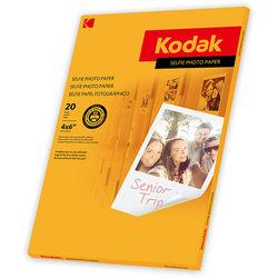 "Kodak Selfie Photo Paper (4 x 6"", 20 Sheets)"