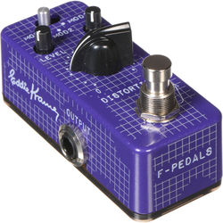 F-PEDALS Edstortion - Legends Series - Eddie Kramer Signature Line Distortion Pedal
