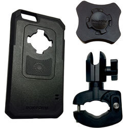 PANAVISE BarGRIP Phone Mount with Rokform Case for iPhone 6