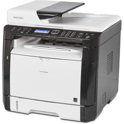Ricoh SP 377SFNwX Monochrome All-in-One Laser Printer