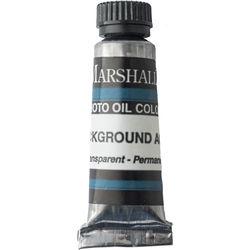 "Marshall Retouching Oil Color Paint: Background Aqua - 0.5 x 2"" Tube"