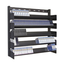 Turtle Wall Mounted Multi-Media Rack with Five Shelves for 150 LTO-Size Tapes
