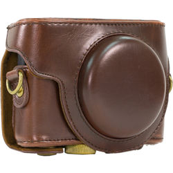 MegaGear MG275 Ever Ready Camera Case for Sony DSC-RX100 (Brown)
