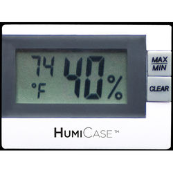 HumiCase Digital Hygro-Thermometer for Guitars
