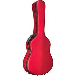 HumiCase Metro II Classical Guitar Case (Red)