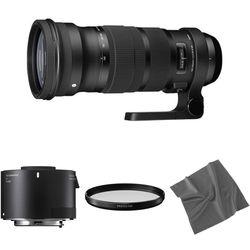 Sigma 120-300mm f/2.8 DG OS HSM Lens with 2x Teleconverter Kit for Nikon F