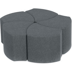 Balt Economy Shapes Upholstered Stool (Set of 5)