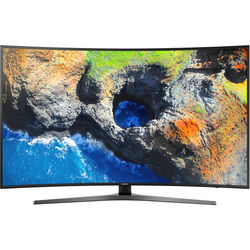 "Samsung MU7500-Series 65""-Class HDR UHD Smart Curved LED TV"