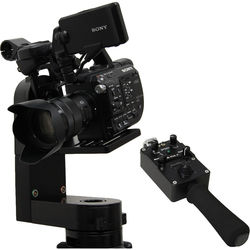 """VariZoom CP Micro Head With Jibstick Jr, Power Supply, Cables, Case And choice Of 100mm"""""""