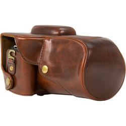 MegaGear MG345 Ever Ready Protective Camera Case for Select Canon Cameras (Brown)