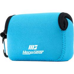 MegaGear Ultra-Light Neoprene Camera Case for Canon PowerShot G7 X and G7 X Mark II (Blue)