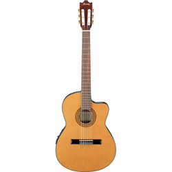 Ibanez GA5TCE Acoustic/Electric Thin-Line Classical Guitar (Amber High Gloss)