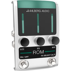 Aalberg ROM RO-1 Reverb Pedal with Wireless Control