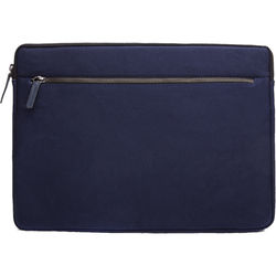 """Cecilia Gallery Waxed Cotton Sleeve for 15"""" MacBook Pro (Midnight)"""