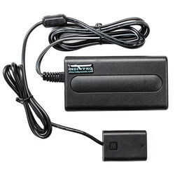 IndiPRO Tools AC Power Supply with Sony a7 Compatible Dummy Battery (8 ft)
