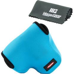 MegaGear MG451 Ultra Light Neoprene Camera Case for Canon PowerShot SX60 (Blue)