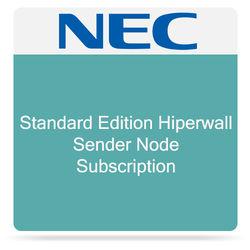 NEC Standard Edition Hiperwall Sender Node Subscription