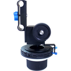 Ivation Professional Follow Focus FF3 with 2 Hard Stops