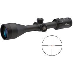 SIG SAUER 3-9x50 WHISKEY3 Riflescope (Illuminated HellFire TriPlex Reticle, Matte Black)