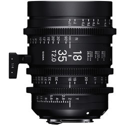 Sigma 18-35mm T2 Cine High-Speed Zoom Lens (Canon EF)