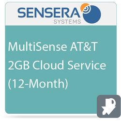 Sensera MultiSense AT&T 2GB Cloud Service (12-Month)