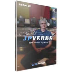 Overloud JPVerbs John Paterno Signature - Expansion Library for REmatrix Reverb (Download)
