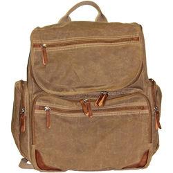 Buxton DOPP Gear Canvas Backpack (Tan)