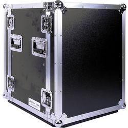 "DeeJay LED  14 RU Amplifier Deluxe Case with Wheels (18"" Deep)"
