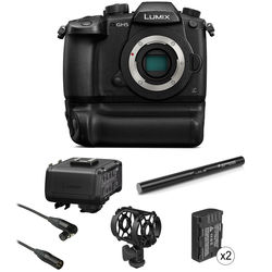 Panasonic Lumix DC-GH5 Mirrorless Micro Four Thirds Digital Camera Filmmaking Kit