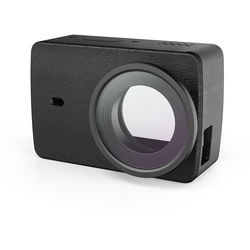 YI Technology Leather Case with Protective Lens for 4K Action Camera (Black)