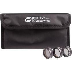 Digital Concepts Filter Kit for DJI Mavic Pro (Set of 3)