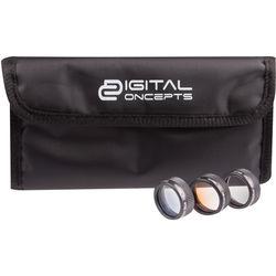 Digital Concepts Graduated Filter Kit for DJI Mavic Pro (Set of 3)