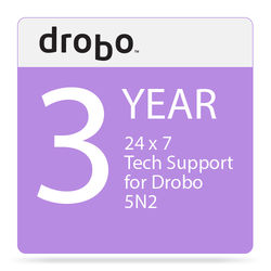 Drobo 3-Year DroboCare Renewal Warranty for the Drobo 5N2