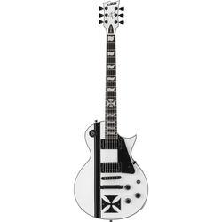 ESP LTD Iron Cross James Hetfield Signature Series Electric Guitar (Snow White)