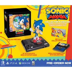 Sega Sonic Mania Collector's Edition (Nintendo Switch)