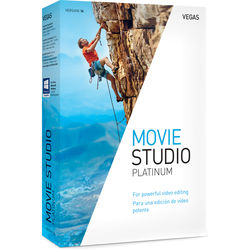 MAGIX Entertainment VEGAS Movie Studio 14 Platinum (Volume 100+, Academic, Download)