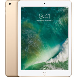 "Apple 9.7"" iPad (2017, 128GB, Wi-Fi Only, Gold)"