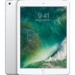 "Apple 9.7"" iPad (2017, 32GB, Wi-Fi + 4G LTE, Silver)"