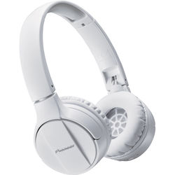Pioneer SE-MJ553BT Bluetooth Headphones (White)