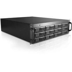 "iStarUSA 12-Bay 3.5"" HDD JBOD Storage Chassis (No Tray, 3 RU)"