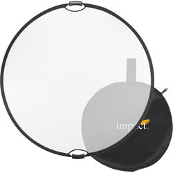 "Impact Collapsible Circular Reflector with Handles (22"", Translucent)"