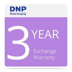 DNP 3-Year Advance Exchange Service Contract for DS-RX1 / DS-RX1HS Printer