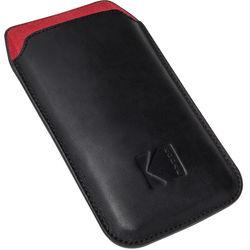 Kodak Pouch Case for EKTRA Smartphone (Black/Scarlet)