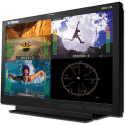 """Wohler 20"""" LCD Video Monitor with 4 Auto-Sensing Inputs and Rackmount"""