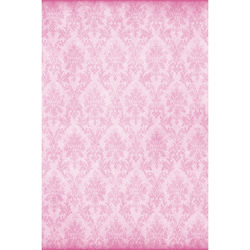 Savage Pink Damask Printed Vinyl Backdrop (5x7')