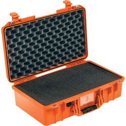 Pelican 1525AirTP Carry-On Case (Orange, with Pick-N-Pluck Foam)
