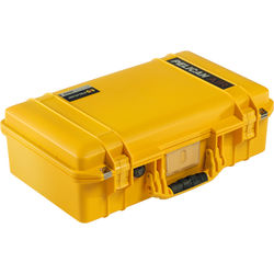 Pelican 1525 AirNF Carry-On Case (Yellow, No Foam/Empty)