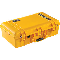 Pelican 1555AirNF Carry-On Case (Yellow, No Foam/Empty)